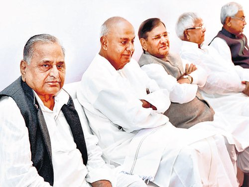 Regrouped Janata Parivar parties to stage demo against government