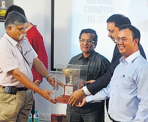 Chennaite is crossword champion of India