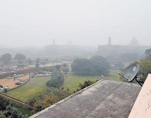 Fog adds to cold misery across North