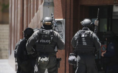 Two held in Sydney's counter-terrorism operation
