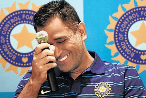 Dhoni rubbishes reports of dressing room unrest