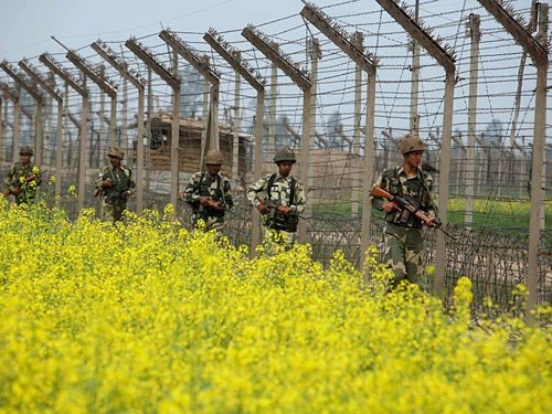 BSF putting laser wall to fill gaps along Indo-Pak border