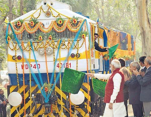 Modi rules out privatisation of Railways