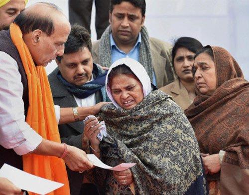 84 riots were genocide, says Rajnath