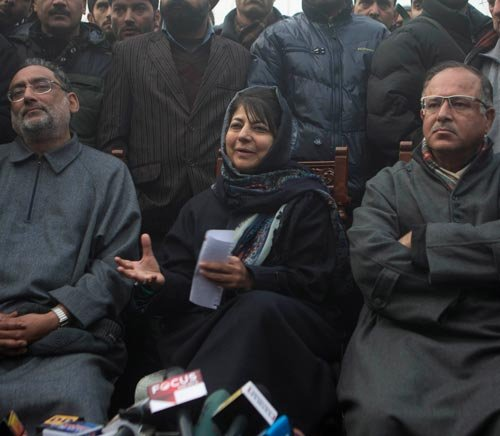 Talks on with other parties on govt formation in JK: BJP