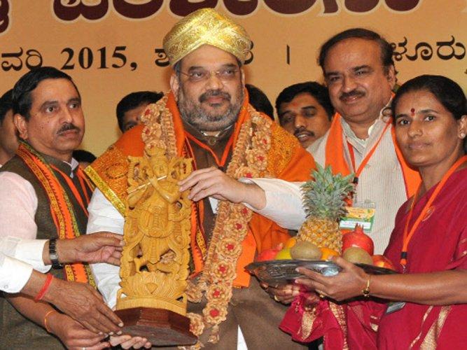 BJP will make Karnataka Congress-free, says Shah