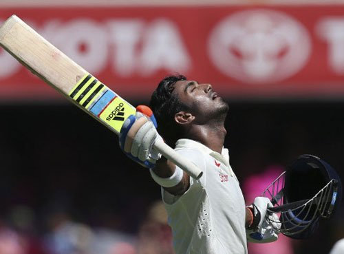 Relieved with my innings: Rahul