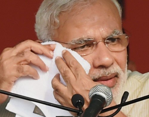 PM hints at own visa woes while rolling out promises, results