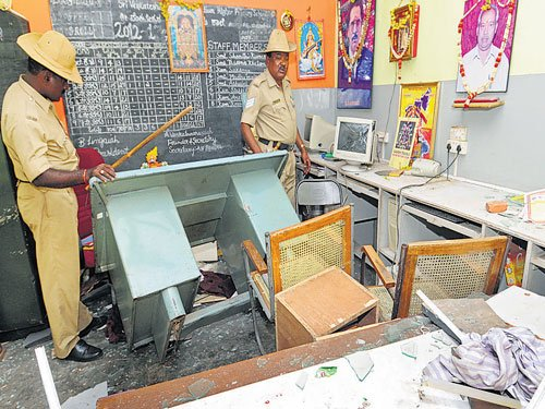 Cops checking CCTV, press photos to trace school rioters