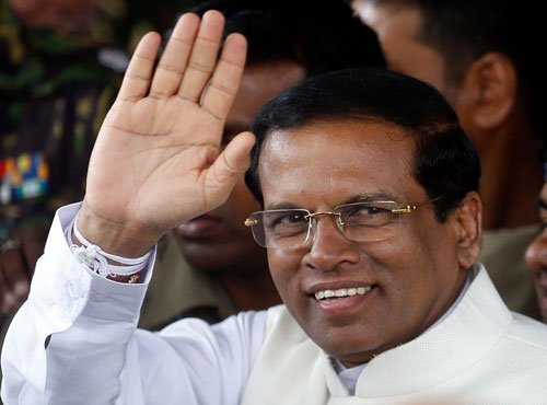 Lankan President to visit India on his first foreign trip