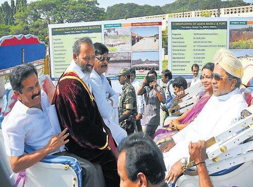 Make efforts to preserve monuments: Siddu