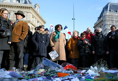 Over one million gather for historic Paris march of defiance and sorrow