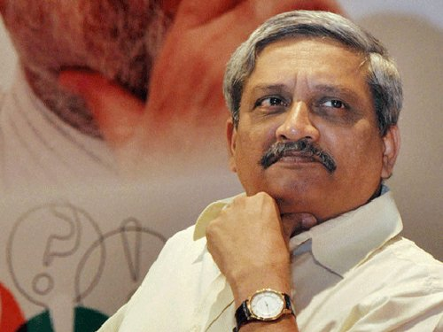 Defence manufacturing and procurement in 2-3 months: Parrikar