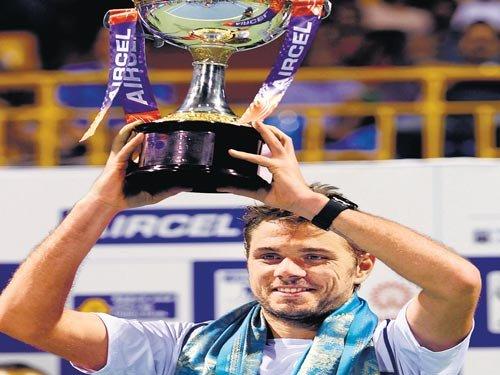 Wawrinka remains champion of Chennai