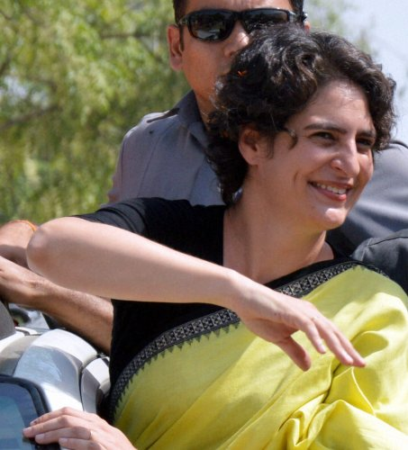 Congress workers want Priyanka for party prez