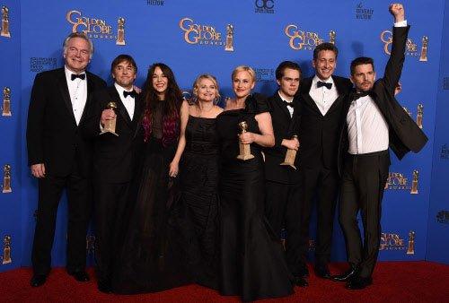 'Boyhood, 'Grand Budapest' take top Golden Globes