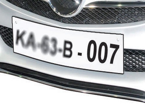 Fancy car numbers to be auctioned