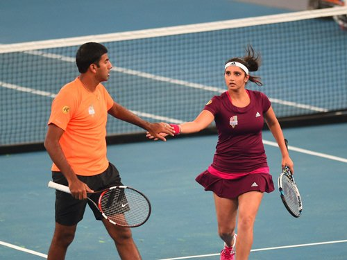 Sania, Rohan reach semis of Apia International