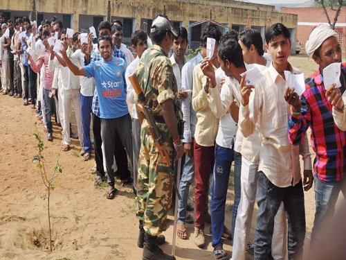 61 pc voting in first phase of panchayat polls in Raj