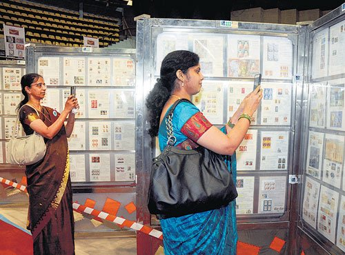 Unique, rare stamps on display at philately expo