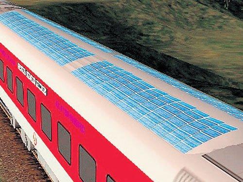 Rail solar policy may target 1k mW