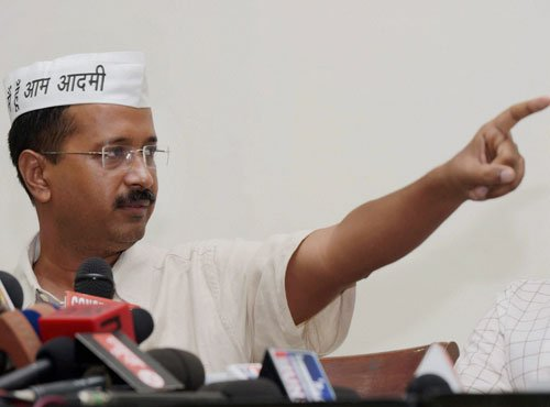 EC acts on BJP plaint, issues notice to Kejriwal