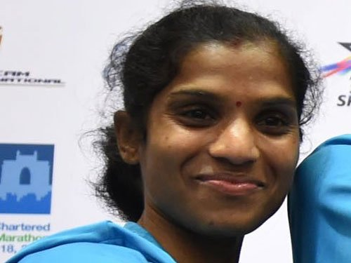 Jaisha breaks national marathon mark, qualifies for Beijing WC