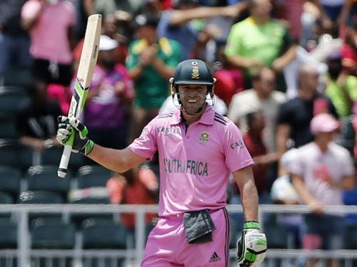 AB de Villiers smashes fastest ODI hundred in 31 balls