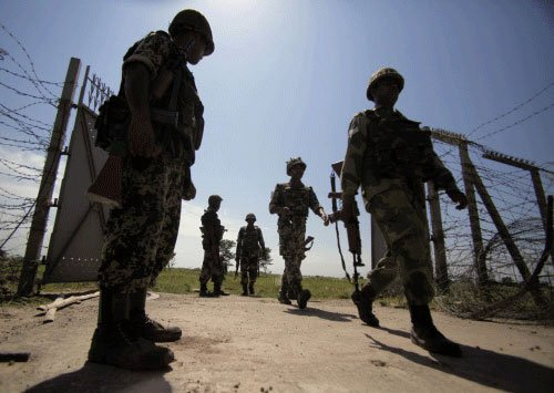 Obama visit: BSF bolsters security along IB
