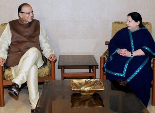 TN parties cry foul over Jaitley visiting Jaya