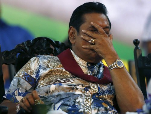 Police raids Rajapaksa's country home in Lanka