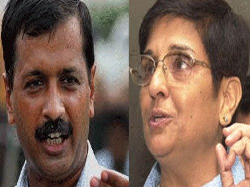 Kiran Bedi five times richer than Kejriwal
