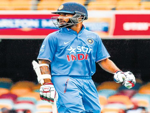 Time running out for Dhawan