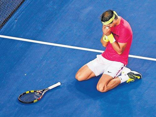 Nadal pulls off a great escape