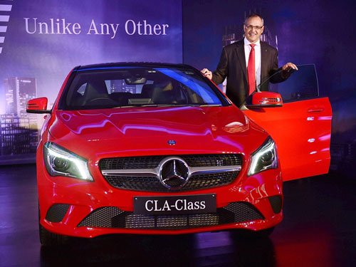 Mercedes launches CLA Class sedan; prices start at Rs31.5 lakh
