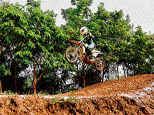 Youngest motocross rider in India is a six-year-old