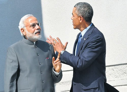 Obama, Modi to iron out nuclear deal differences
