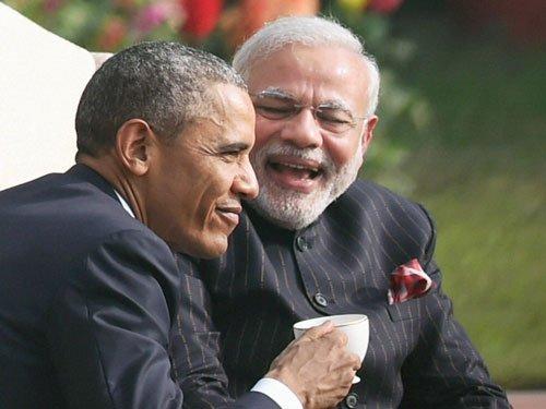 Obama-Modi chemistry on display
