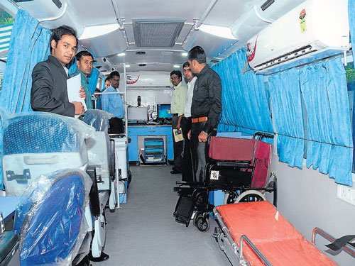 State-of-the-art healthcare bus launched