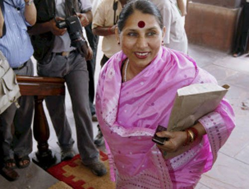 Not hand but lotus this time, Tirath tells voters