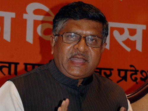 Nothing wrong in Sena demand for deletion of 'secular': Prasad