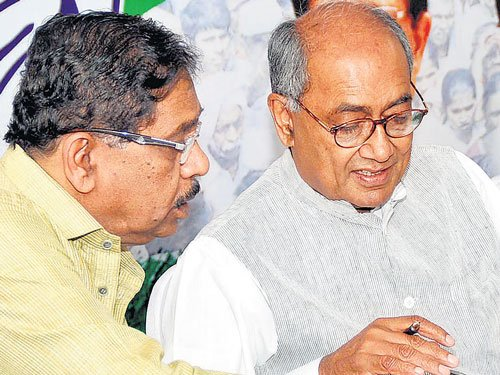 Congress legislators complain against chief minister's coterie