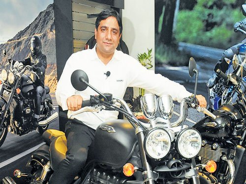 Triumph aims for larger piece of Indian road; to tap smaller cities