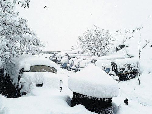 Snowfall, rain in most parts of North India