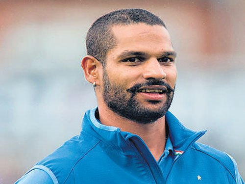 Dhawan happy to end the  run drought