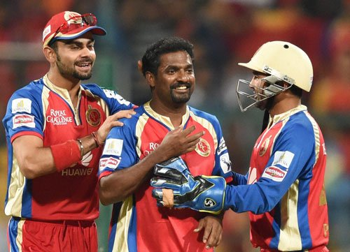 Spinners won't get much purchase in World Cup: Muralitharan