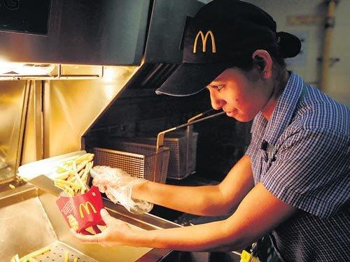 McDonald's India cuts calories, salt in menu