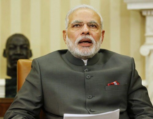 US media sees Modi 'brought down to earth'
