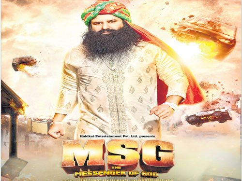 MSG' releases amid tight security | Deccan Herald