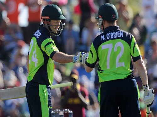 World Cup: Ireland beat West Indies by 4 wickets